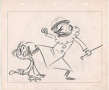 Victory Through Air Power 1943 Disney Signed Gag Character drawing Bodrero Grant