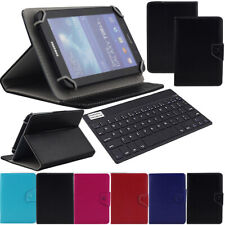 US For Onn 10.1 inch Android Tablet Keyboard Universal Leather Stand Case Cover