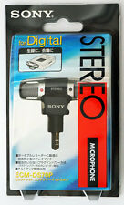 GENUINE Sony ECM-DS70P Condenser Microphone (BRAND NEW IN RETAIL PACKAGE)