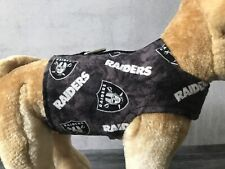 Raiders Dog Vest Harness Size Small