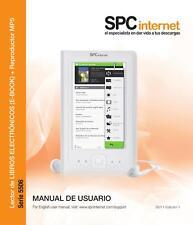 Ebook color SPCinternet 5506B - 4GB - MP5 -NUEVO A ESTRENAR + CASCO + CARGADOR
