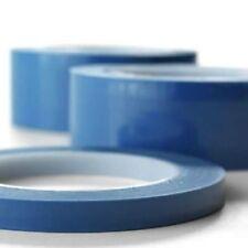 Nastro blu alte temperature in poliestere silicone per mascheratura 0,08mm x 66M