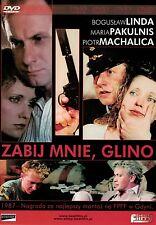 Zabij mnie glino (DVD) 1987 Boguslaw Linda, Maria Pakulnis POLISH MOVIE