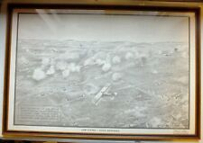 More details for  low flying -  avoid barrages; royal air force technical diagram framed reprint