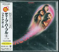 Deep Purple Fireball Japan CD w/obi WPCR-866