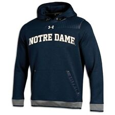 Notre Dame Fighting Irish Under Armour Mens Sleet Embossed Hoodie 8499ND L $100