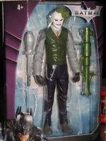 FIGURE FILM SUPEREROI DC MOVIE BATMAN THE DARK KNIGHT-HEATH LEDGER JOKER BAZOOKA