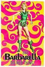 Barbarella Poster 01 A4 10x8 Photo Print