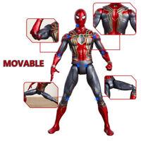 Marvel Avengers 3 Infinity PVC War Iron Spiderman Spider-Man Toys Player- Spider