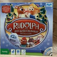 Rudolph the Red Nosed Reindeer DVD game complete screenlife Christmas holiday