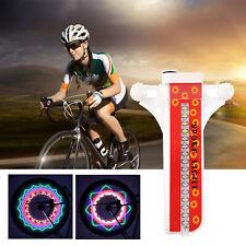 32 LED Cycling Bicycle Bike Rim Lights LED Wheel Spoke Light String Strip Lam Y2