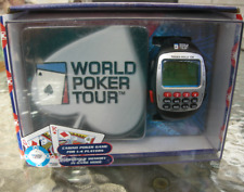 World Poker Tour Travel Game Wrist Watch Texas Hold'em Official WPT Coaster