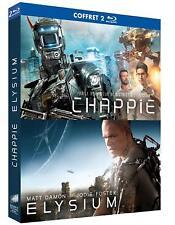 Chappie + Elysium - coffret 2 blurays neuf/cello