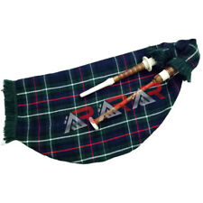 New Mackenzie Scottish Goose Bagpipe Brand AAR Brown Color Imitation Ivory Mount