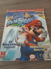 Super Mario Sunshine (GameCube, 2002) detailed maps strategy guide book rare