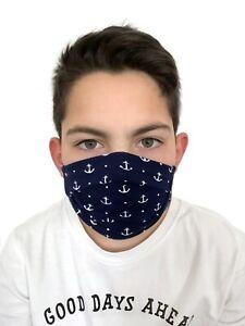 ML111140 Behelfsmaske Kinder & Erwachsene Mundbedeckung 95% Baumwollstoff ÖkoTex