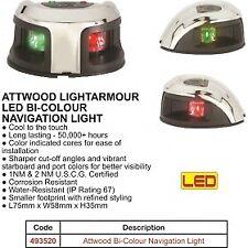 LED NAVIGATION LIGHT - Bi Color - PORT/STARBOARD - Horizontal mount