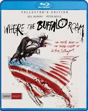 PRE ORDER: WHERE THE BUFFALO ROAM (COLLECTOR'S EDITION) - BLU RAY - Region A