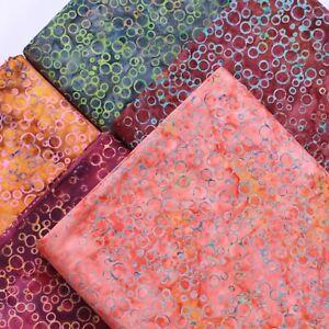 Batik Fabric, Printed Bubble Effect,100% Premium Cotton,110cm Wide
