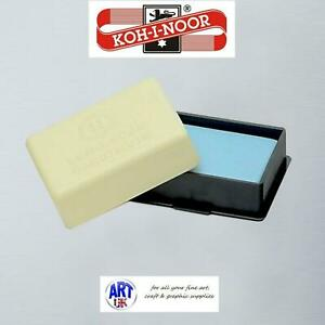 Koh-I-Noor Artists BLUE KNEADABLE PUTTY RUBBER Eraser for Pencil Charcoal Pastel