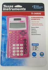 New Texas instrument calculator Pink Ti-30x iis Scientific general math/science