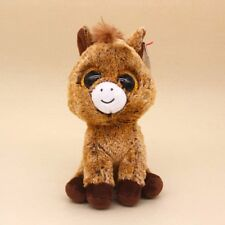 """Ty Beanie Boos 6"""" Ollie Stuffed Animal Plush Toys Child or girls Xmas Gifts Hot!"""