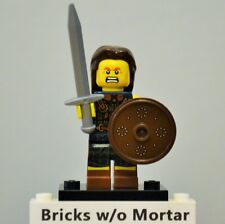 New Genuine LEGO Highland Battler Minifig with Sword and Shield Series 6 8827