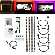 4* 40CM RGB LED STRIP lights USB Changing Multi Colour TV BackLights Kit AUS