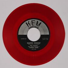 THE CASUALS: Beautiful Friendship / My Usual Self USA KEM Vocal 45 COLORED Pop