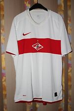 RARE RUSSIA SPARTAK MOSCOW AWAY FOOTBALL SHIRT JERSEY 2009-2010 SIZE M