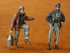 Czech Master 1/35 2 x allemand Loco Crew Figures WWII # F35066