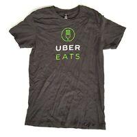 Mens Uber Eats Tshirt Black Size M Medium