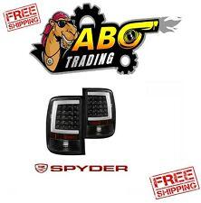 Spyder 5081551 LED Tail Light Pair Set Black for 2007-2013 GMC Sierra 1500 2500