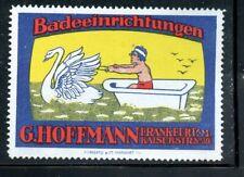 Reklamemarken Cinderella Poster Stamp Premium Lot Germany Hoffman Baby Bathtub