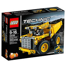 Lego® Technic Set 42035 Mining Truck Construction Model Trench Digger Excavator