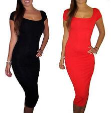 Peaches&Cream Party Evening Christmas Short Sleeve Dress Black 8 10 12 14 16 18