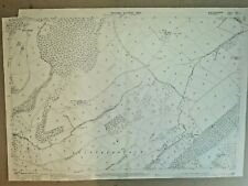 Old Antique Ordnance Map 1902 Montgomeryshire XXXI.1 Trelystan & Kingswood ...