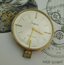 Vintage SHEFFIELD Swiss Made Gold Tone Wind Up Pendant Watch