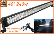 "40"" Super Bright 240W LED Light Bar High Intensity Spot Lamp LANDROVER DEFENDER"