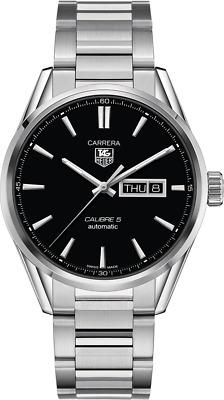 orologio TAG HEUER Carrera Calibre 5 WAR201A.BA0723 watch automatic *brand new