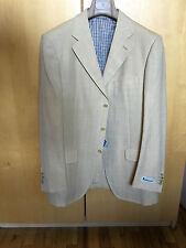 Amazing Aquascutum Sportcoat Silk, Wool, Linen Beige 40R Isaia
