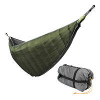 Camping Full Length Hammock Underquilt Lightweight Blanket 4 Season Waterproof