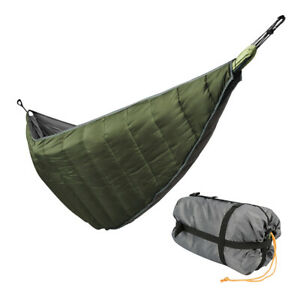Camping Full Length Hammock Underquilt Lightweight Blanket 4 Season Waterproof