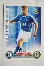2007/08 Topps Match Attax Trading Card - Hermann Hreidarsson, Portsmouth FC
