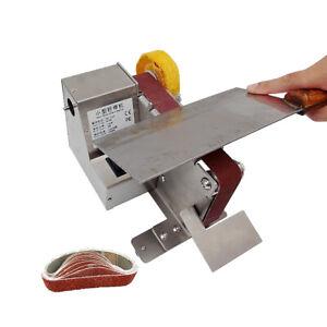 Mini Abrasive Belt Sander Household Electric Desktop Sanding Polishing Machine
