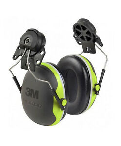 3M PELTOR X Series Premium Cap Attached Earmuff X4P3G