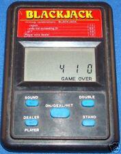 ELECTRONIC HANDHELD BLACKJACK HAND HELD BLACK JACK GAME