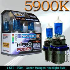 9004 SUPER WHITE 100/80W 5900K DUAL BEAM HALOGEN XENON HEADLIGHT BULBS