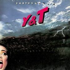 Y&T - Earthshaker - 80s HARD ROCK - CD-RE-Issue/SEALED/MENIKETTI