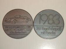 1983 Porsche Christophorus Calendar Coin Münze RARE!! Awesome L@@K